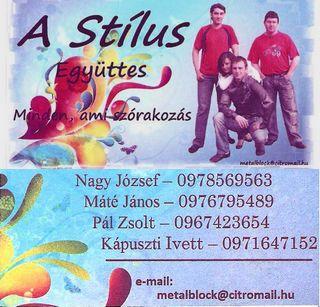 A Stílus együttes